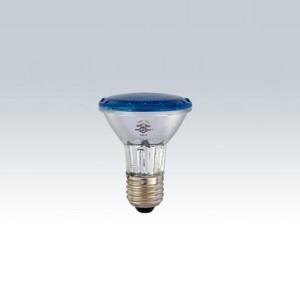 Lâmpada halógena PAR20 220V 50W azul 7286