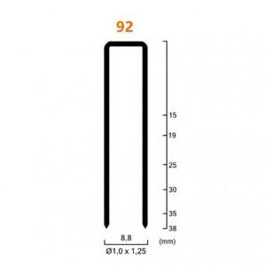 Grampo Pneumático 09,0 x 35 mm 92/35 c/7.296 - CX