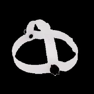 Carneira capacete simples branco WPS4371