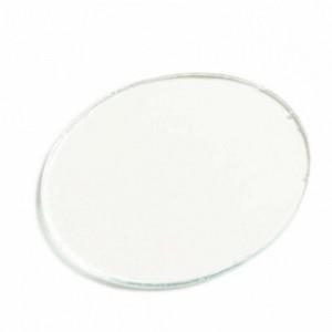 Lente redonda incolor para óculos de solda 50 mm (PAR)