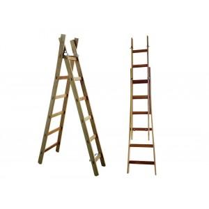 Escada de Madeira Multi-Uso 2,10 até 3,20mt 10 degraus - Mum320