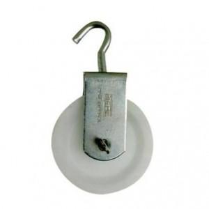 Roldana plastica com Gancho 04cm Biehl Ref.4097404