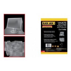 Lona de PVC para proteção 3 x 4 metros O336