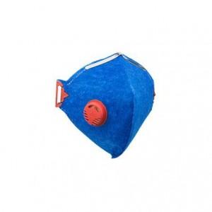 Respirador semifacial descartável com válvula PFF1