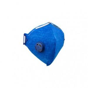 Respirador semifacial descartável com válvula PFF2
