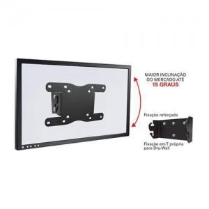 """Suporte para TV LCD inclinável 14 a 56"""" STPA42-PR"""