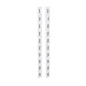 Trilho duplo branco 1,0 metros TD100-BR