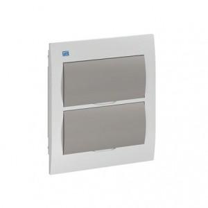 Caixa de distribuição PVC embutir 16DIN QDW02-16FE