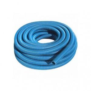 """Mangueira espiral azul para piscina 1.1/2"""" (venda por metro)"""