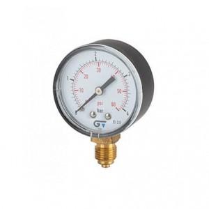 Manômetro para ar comprimido e água vertical 350PSI/25BAR