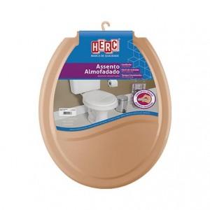Assento sanitário almofadado caramelo 2389