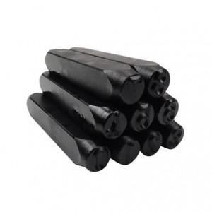 """Punção algarismo numérico de bater 04,0 mm - 5/32"""" 60,0005"""