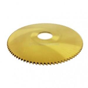 Disco serra para metais em aço rápido HSS 80 X 1,0 mm 100D 253,0061