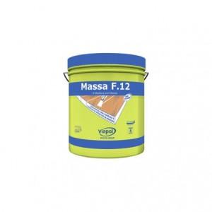 "Massa para madeira F12 1,65kg 1/4"" mogno"