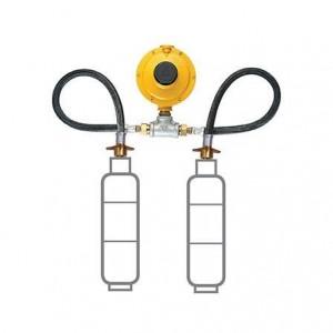 Conjunto P-45 industrial amarelo Liquigás M20 12kg 5992