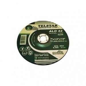 "Disco de desbaste ferro 7"" x 1/4"" x 7/8"" Alo42"