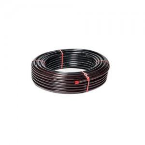 """Mangueira preta 3/4"""" x 2 mm selo vermelho (venda por metro)"""