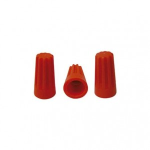 Emenda rápida rosca 2 x 1,5 mm laranja 29245