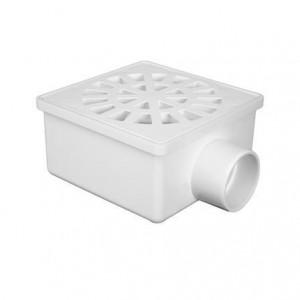 Ralo para esgoto sifonado quadrado 100 x 52 x 40 0931