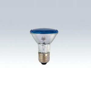 Lâmpada halógena PAR20 127V 50W azul 7285